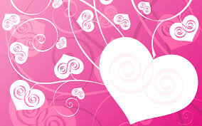 heart design for powerpoint pink love hearts backgrounds presnetation ppt backgrounds templates