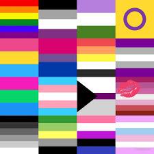 Pride Flag Colors Lgbt Pride Flags Collage