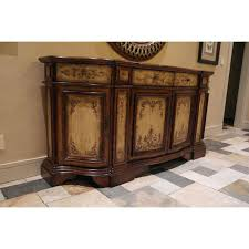 Hooker Credenza Hooker Hand Painted Credenza Buffet Chairish