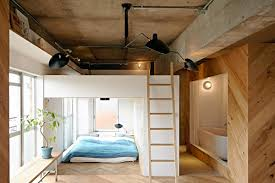 using natural wood to open up an apartment and make it look bigger