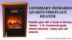 Infrared Quartz Fireplace by Lifesmart Infrared Fireplace Reviews 2015