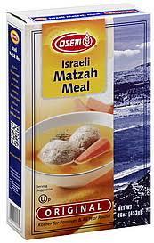 osem matzah osem matzah meal israeli original 16 0 oz nutrition information