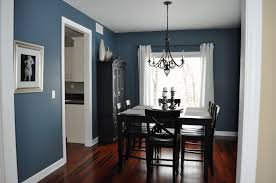 dining room paint ideas with chair rail square stained pine wood