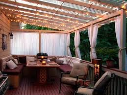 Roof Pergola Next Summers Project Beautiful Patio Roof Beautiful by Love Everything About This The Lights The Clear Plexi Roof The