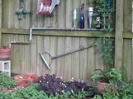 Garden Fence Decor Funky Fence Decoration U2013 The Hairy Toe Gardener