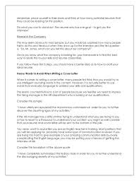 Resume And Resume How To Write Impressive Resume And Cover Letter