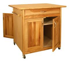 buy hardwood heart of the kitchen island w 2 cabinet cart u0026 drawer