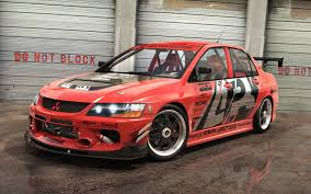 mitsubishi evo red and black 4html evo