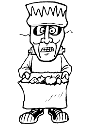 treater4 halloween coloring pages u0026 coloring book