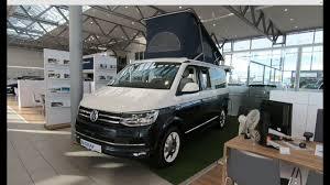 volkswagen minibus interior volkswagen vw t6 bulli california ocean blue camper white blue