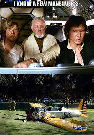 Airplane Movie Meme - internet users post series of hilarious memes after harrison fords