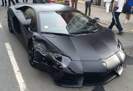 black on black lamborghini aventador matte black lamborghini aventador crashes in gtspirit