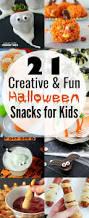 21 fun halloween snacks for kids yummy healthy easy
