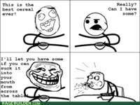 Eating Cereal Meme - image 225782 cereal guy know your meme