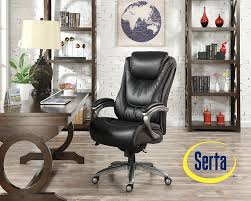 Big And Tall Office Chairs Amazon Amazon Com Serta Big And Tall Smart Layers Blissfully Executive