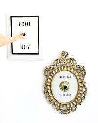 press for champagne pool boy button kellygolightly interior