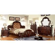 furniture of america coppedge 4 piece queen bedroom set idf