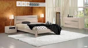 chambre chene massif chambre à coucher chêne massif style contemporain