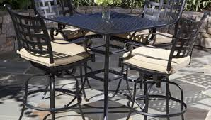 Patio Furniture Bar Furniture Wonderful Decoration Fire Pit Dining Table Fancy Idea