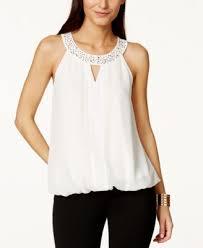 keyhole blouse thalia sodi embellished keyhole blouse only at macy s tops