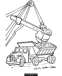 garbage truck coloring pages kids coloring