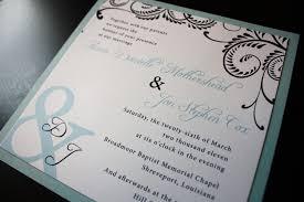light blue wedding invitations navy blue swirl light blue ampersand wedding invitations
