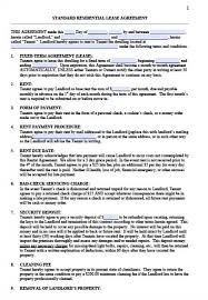 sample texas residential lease agreement 45 eviction notice