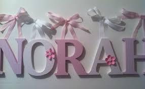 buchstaben kinderzimmer holzbuchstaben alphabet für kinderzimmer in rosa und weiß die