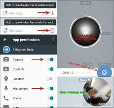 how do you send a telegram in telegram you can now send messages how to set