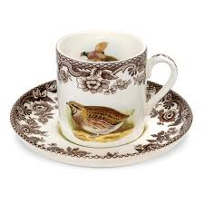 spode woodland coffee cup and saucer spode uk