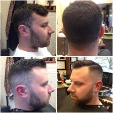 before and after pics on my buddy john manakian hair fade