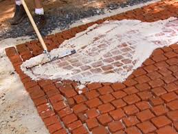 Putting In Pavers Patio How To Install A Cobblestone Patio How Tos Diy