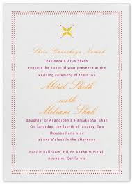 wedding ceremony invitation wording indian wedding invitation wording template shaadi bazaar