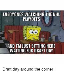 Just Sitting Here Meme - everyones watching the nhl playoffs and itm just sitting here