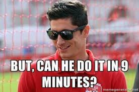 Lewandowski Memes - soccer memes on twitter lewandowski watching aguero like http