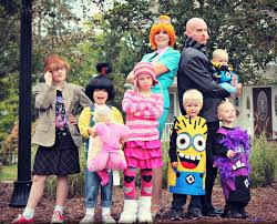 family fun halloween costumes despicable me halloween costumes