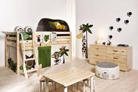 chambre jungle enfant décoration originale de chambre d enfant flexibul décoration