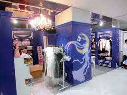 sailor moon store in draws child fans fans alike the