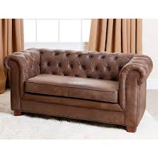Childs Leather Sofa Abbyson Kids Antique Brown Velvet Chesterfield Rj Mini Sofa Free