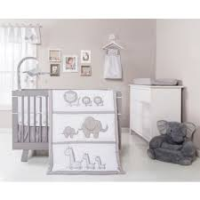 trend lab safari chevron 3 piece crib bedding set free shipping