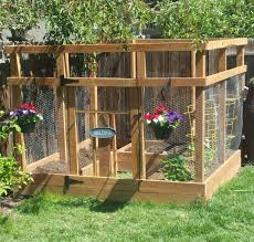 ana white garden enclosure with custom gate diy projects