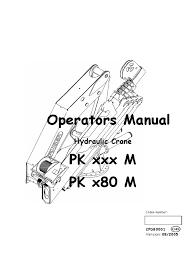 hydraulic crane pk m pk x80 m cpdb0001 gb crane machine