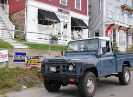 old land rover truck salt water new england preppy cars