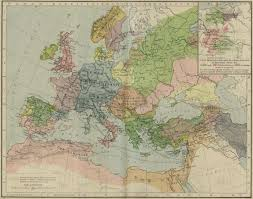 Map Of The Mediterranean Map Of Europe And The Mediterranean Lands 1190
