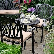 Aluminium Bistro Table And Chairs Bistro Garden Furniture U2013 Exhort Me