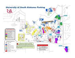 alabama zone map parking map