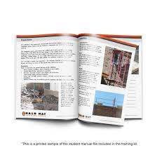 Forklift Operator Certification Card Template Scaffolding Training Hard Hat Training Series