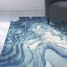 Blue Area Rug Angeline Blue Area Rug Blue Area Rugs Modern And Room Rugs