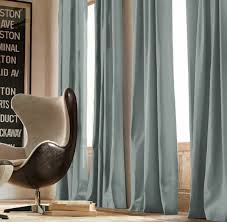 astonishing pictures of drapes for living room using blue drapery