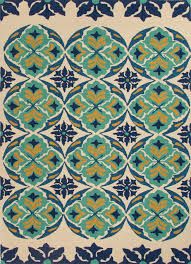 Jaipur Outdoor Rugs Indoor Outdoor Floral And Leaves Pattern Barcelona Area Rug